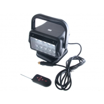 Night Saber LED Remote Control Searchlight with Handle and Remote 2500lm