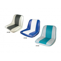 First Mate Fully Upholstered Seat - Blue and White