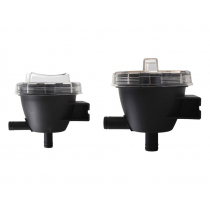 Cooling Water Strainers with Clear Inspection Cap