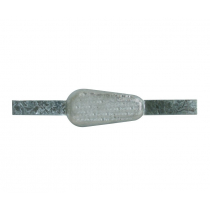 Zinc Teardrop Anode with Straps 2.6kg