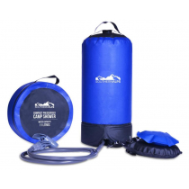 Southern Alps Pressurised Portable Shower with Foot Pump 11L