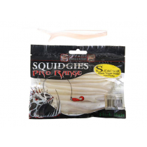 Squidgies Pro  Flick Bait with S-Factor Attractant 110mm Pacific Pearl