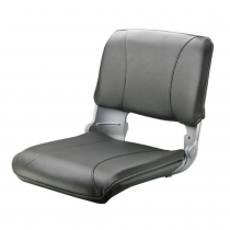 V-Quipment Crew Deluxe Lightweight Folding Seat Grey