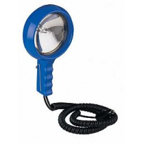 Hella Marine Lightweight Hand Held Spotlight 12V 100W - Blue Housing
