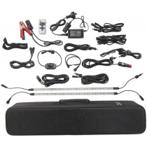 Outdoor 4 x 7w LED Light Bar Kit with Carry Case 2000lm