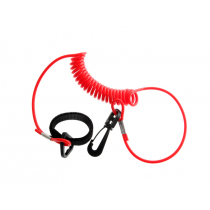 Coiled Kayak Paddle and Rod Leash 1.38m