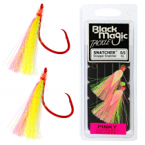 Black Magic Snapper Snatcher Flasher Rig 5/0 Pinky