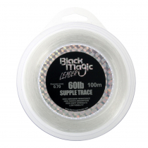 Black Magic Supple Trace Leader 60lb 100m