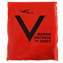 BLA Marine Distress V-Sheet Orange PVC