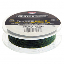 Spiderwire Ultracast Fluoro-Braid Moss Green 20lb 300yds 0.25mm dia