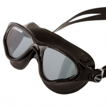 Cressi Cobra Swimming Goggles Black/Smoked Lenses