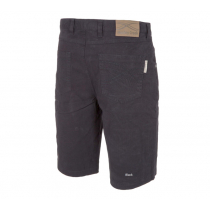 Betacraft Huxley Creek Canvas Jean Shorts Black