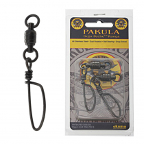 Pakula Ball Bearing Swivels with Snap