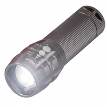 Perfect Image High Power Zoom Torch with Batteries - Titanium Grey