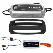 CTEK MXS 5.0 Battery Charger Value Pack with Power Bank 12V/5A