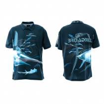 Mad About Fishing Broadbill Polo Shirt 3XL