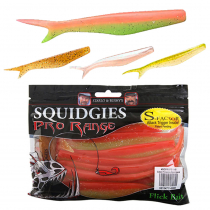 Squidgies Pro Flick Soft Bait with S-Factor Attractant
