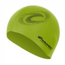 Aropec Adult Silicone Volume Swim Cap Lime
