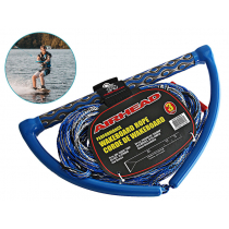 Airhead EVA Grip Handle 3 Section Wakeboard Rope