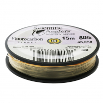 Scientific Anglers Mastery Fluorocarbon Tippet 80lb x 15m
