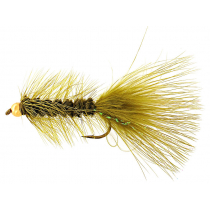 Fishfighter Beadhead Woolly Bugger Olive Size 4 Lure Fly