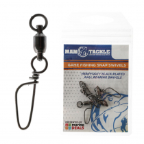 ManTackle Game Fishing Snap Swivels Qty 5