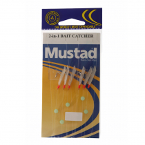 Mustad 3 Hook Sabiki Rigs Twin Pack
