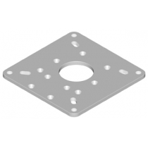 Edson Mounting Plate for Furuno 15in-24in Domes and 4&6 Open Arrays