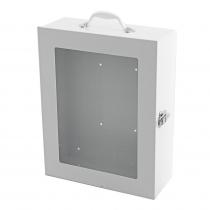 Defibrillator Display Cabinet White