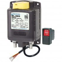 Blue Sea ML-RBS Remote Battery Switch with Manual Control 12VDC 500A
