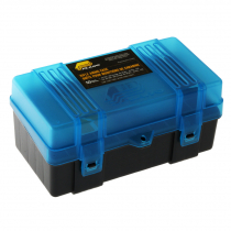 Plano Small Rifle Ammo Case 50 Rounds Blue