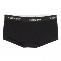 Icebreaker Womens Merino Sprite Hot Pants Black