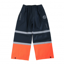 Betacraft Kids Tuffbak Flex Overtrouser Navy/Orange