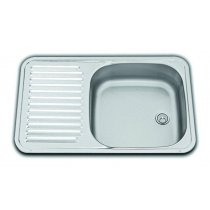 Dometic Sink/Drainer with Plug and Waste Outlet 590x370mm