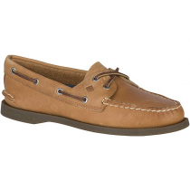 Sperry Womens Authentic Original 2-Eye Boat Shoes Sahara Leather