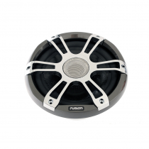 Fusion Signature 2-Way Coaxial Sports Chrome Marine Speakers with LED 8.8in 330W
