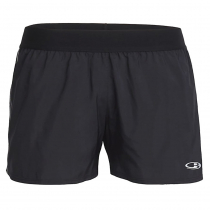 Icebreaker Womens Comet Shorts Black/White