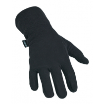 Swazi Fingerprints Microfleece Gloves Black L