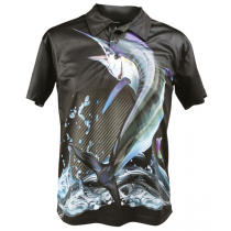 Mad About Fishing Marlin Polo Shirt