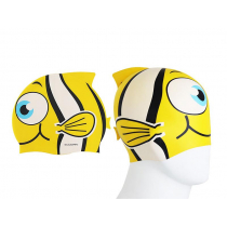 Aropec Kids Silicone Swim Cap Yellow