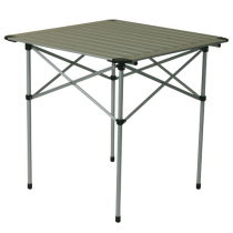Kiwi Camping Roller Top Camp Table 700 x 700 x 700mm
