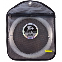 Black Magic Tough Trace 100m Charter Pack 200lb