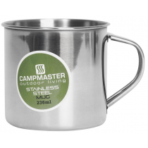 Campmaster Stainless Steel Mug 236ml