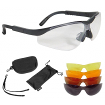 Radians Shooting Glasses 5 Lens Kit