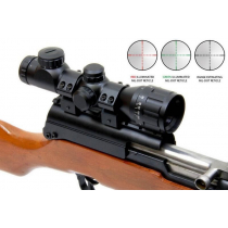Outdoor Optics 4X32 Ao Compact Mil-Dot Illuminated Reticle