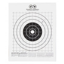 Outdoor Outfitters Cardboard Targets Medium A4 10X Pack