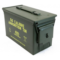 Outdoor Outfitters 50Cal Ammunition Tin Lockable X1