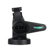 GME Abl015B Single Swivel Round Antenna Base Black