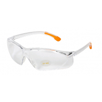 Allen Shooting Sunglasses Clear Lens / Clear Frame