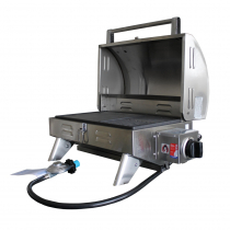 Kiwi Sizzler Solid Top BBQ with Flame Failure Device